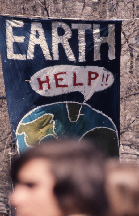Banner Earth Day 1970